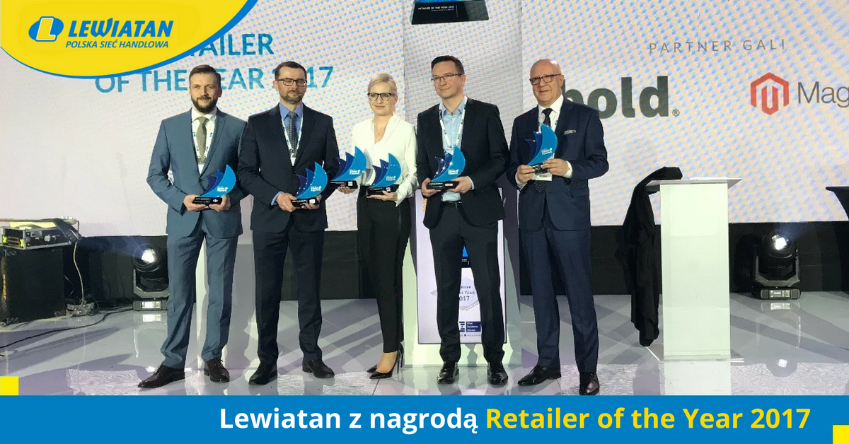 Lewiatan z nagrodą Retailer of the Year 2017.png
